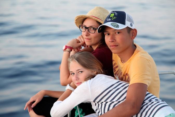 _On a vécu le cancer isolé dans nos chambres et puis on se retrouve sur un bateau_ Mohammed